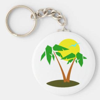 Palm Trees Fun Keychains