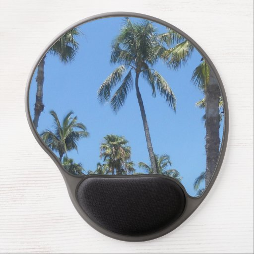 Palm Trees Gel Mousepad