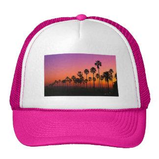 Palm Trees Trucker Hat