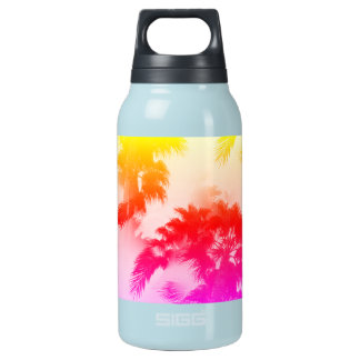 Palm trees hot and cold bottle