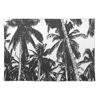 Palm Trees in a Posterised Design Placemat