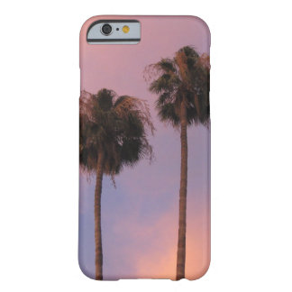 Palm Trees in Pink Sky Barely There iPhone 6 Case