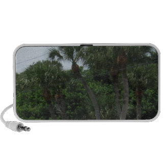 Palm Trees In The City Portable Speakers