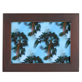 Palm trees keepsake box