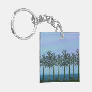 Palm Trees Keychain Acrylic Key Chain
