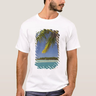 Palm trees & lagoon, Musket Cove Island Resort T-Shirt