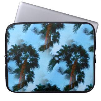 Palm trees laptop cases