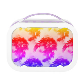 Palm trees lunchbox