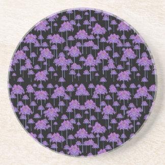Palm Trees Motif Pattern Coaster