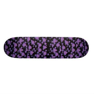 Palm Trees Motif Pattern Custom Skateboard