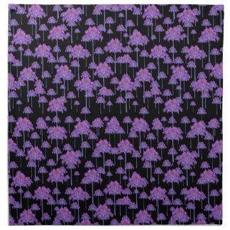 Palm Trees Motif Pattern Napkin