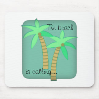 Palm trees mouse pad