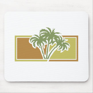 palm trees mouse pads