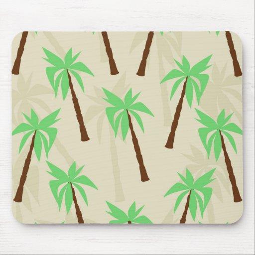 palm trees mousepads