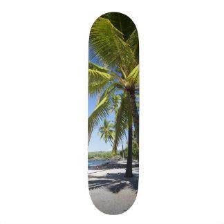Palm trees, National Historic Park Pu'uhonua o 21.6 Cm Skateboard Deck