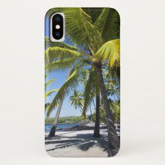Palm trees, National Historic Park Pu'uhonua o iPhone X Case