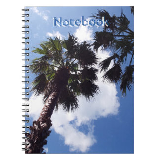 Palm trees notebooks