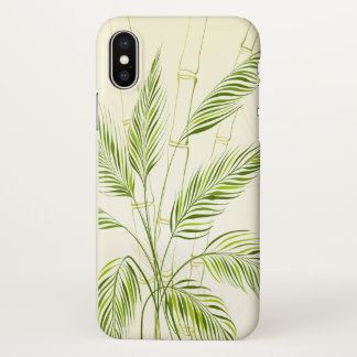 Palm Trees on Bamboo Forest | iPhone X Case