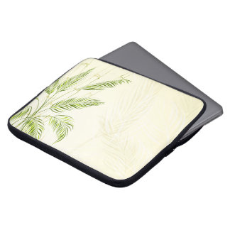 Palm Trees on Bamboo Forest | Laptop Sleeve