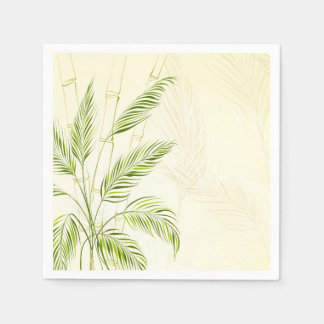 Palm Trees on Bamboo Forest | Napkin Disposable Napkin