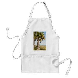 Palm Trees on Myrtle Beach East Coast Boardwalk Standard Apron