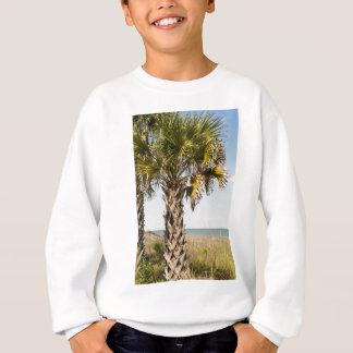 Palm Trees on Myrtle Beach East Coast Boardwalk Sweatshirt