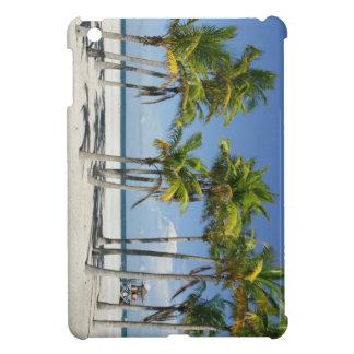 Palm Trees on Sunny Key Biscayne iPad Mini Cases