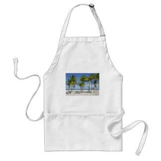 Palm Trees on Sunny Key Biscayne Standard Apron