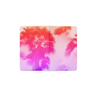 Palm trees pocket notebook