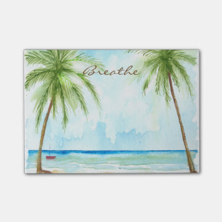 Palm Trees Post It Notes