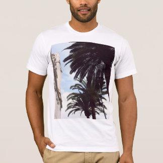 Palm Trees Print. T-Shirt