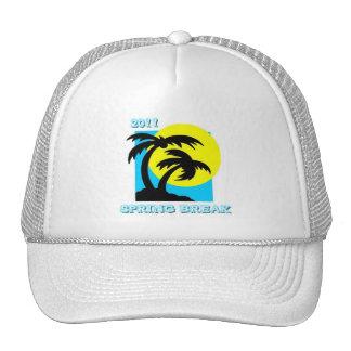 Palm Trees Spring Break Hat 2011