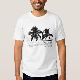 palm trees tee shirt