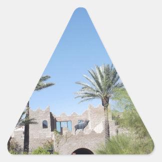 Palm Trees Triangle Sticker