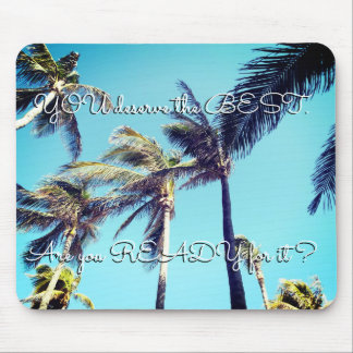 Palm Trees Tropical Mouse Pad