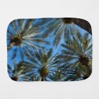 Palm Trees Umbrella Burp Cloth