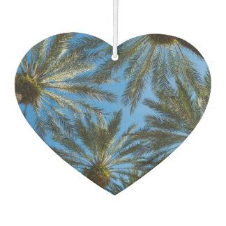 Palm Trees Umbrella Car Air Freshener