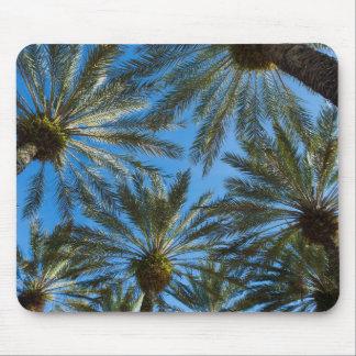 Palm Trees Umbrella Mouse Pad