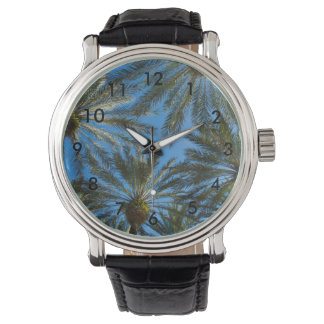 Palm Trees Umbrella Watch
