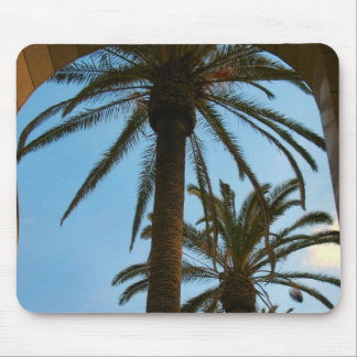 Palm Trees Union Station Mouse Pad