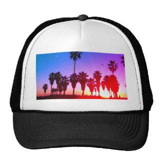 Palm Trees Venice Beach Trucker Hats