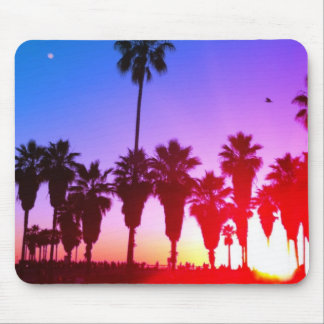 Palm Trees Venice Beach Mouse Pad