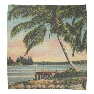 palm trees vintage kerchiefs