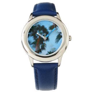 Palm trees watch