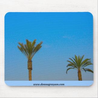 Palm Trees with Blue Sky Mousepad