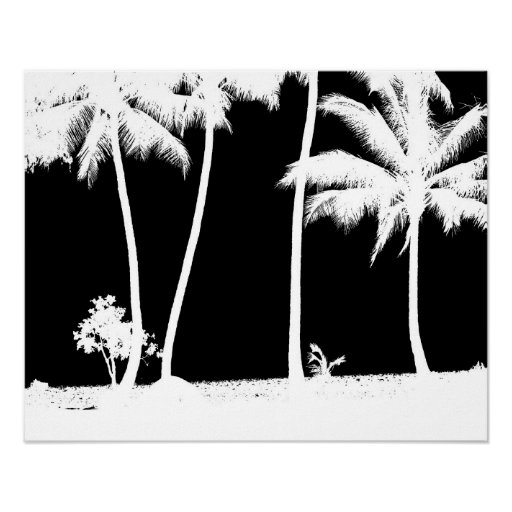 Palm Tress Print