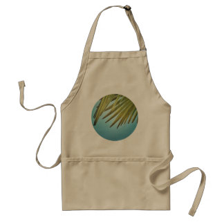 Palm whisk in the summer sky standard apron