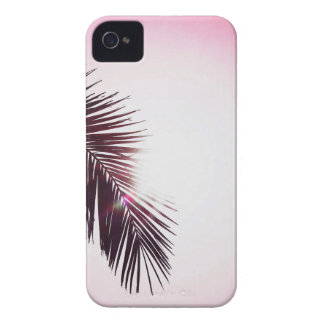 Palm winks Leaf with Sun iPhone 4 Covers