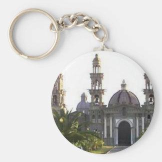 Palmarian Catholic Church Basic Round Button Key Ring