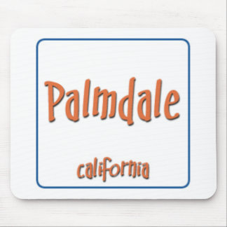 Palmdale California BlueBox Mouse Pad